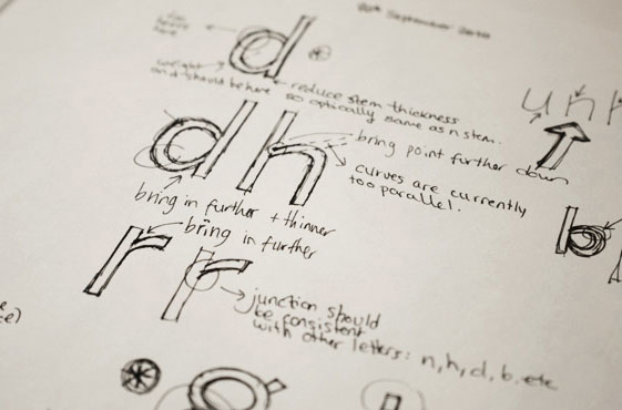 Claire Coullon // Typeface Design