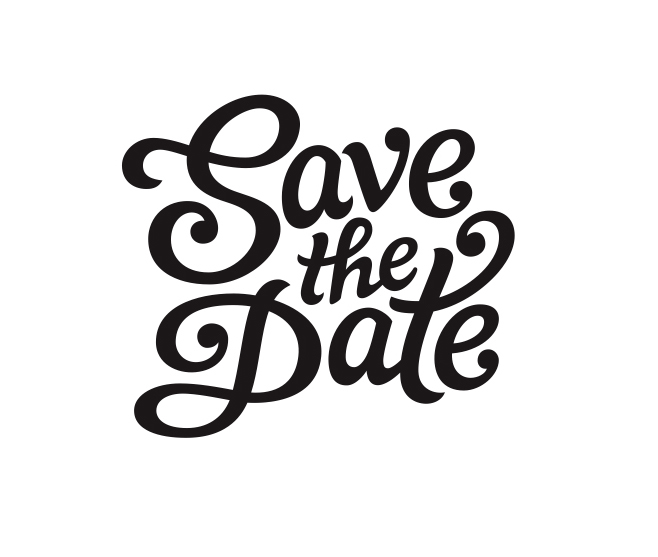 Save the date vector by claire coullon dribbble for Save the date vector